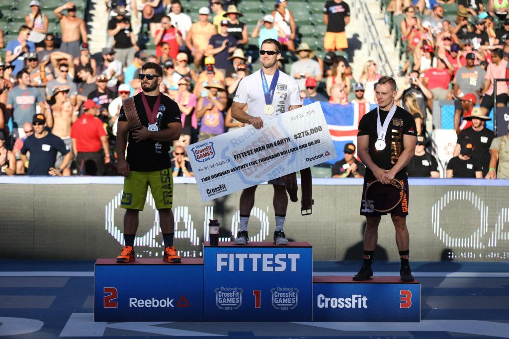 CrossFit Games 2015: podio maschile