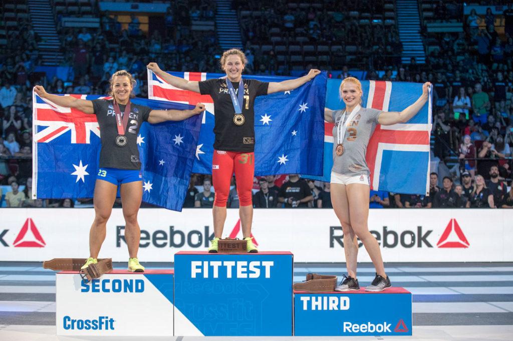 CrossFit Games 2017: il podio femminile