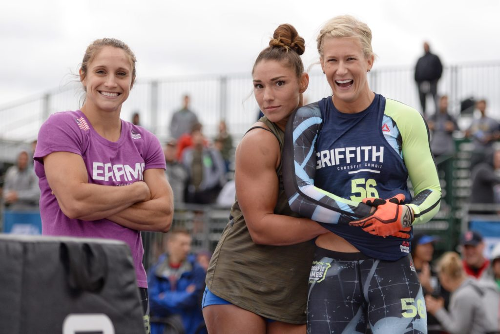 Alcune donne in gara