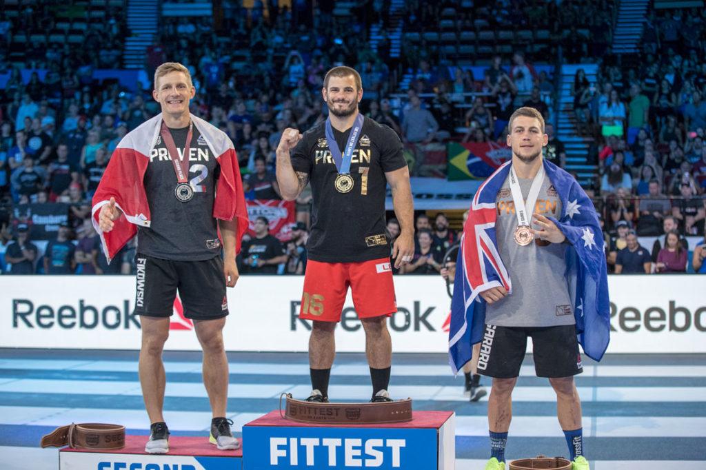 CrossFit Games 2017: il podio maschile