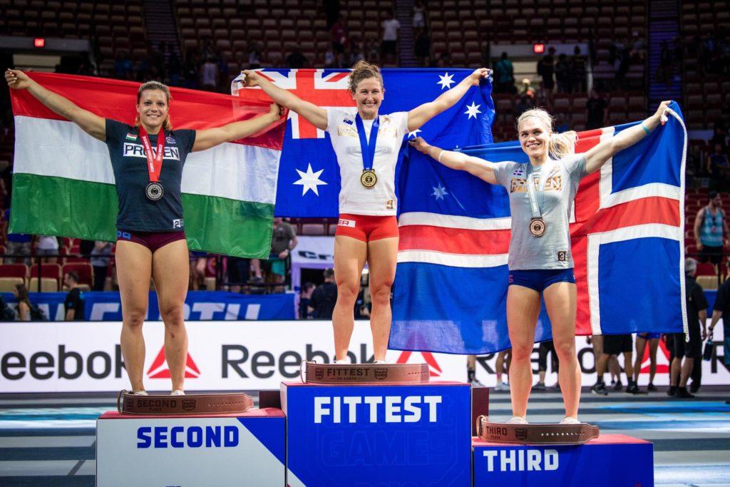CrossFit Games 2018: il podio femminile
