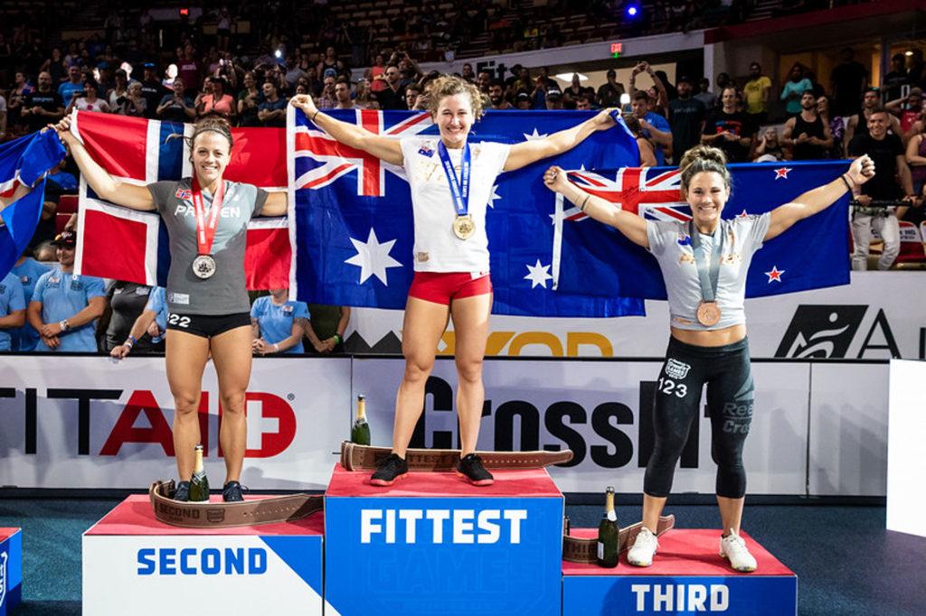 """Il podio femminile della categoria """"individual"""""""