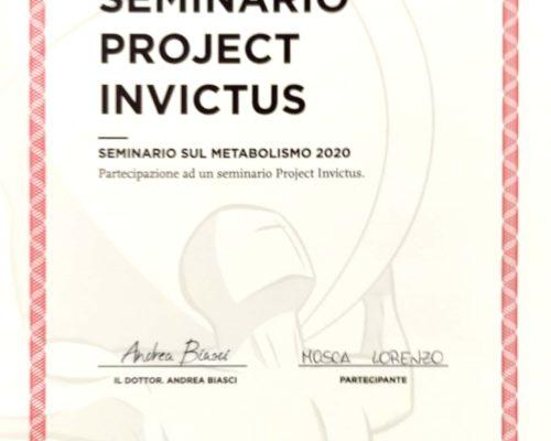 2020-01-26 Seminario Project Invictus